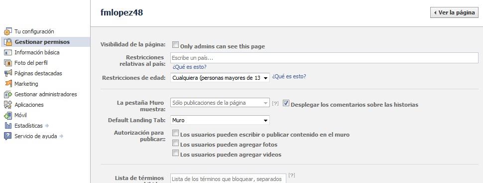 Como crear una fanpage en Facebook (4/5)