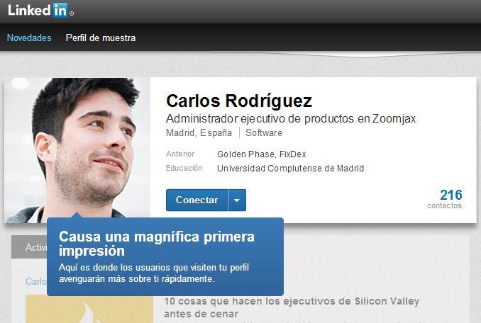 Linkedin rediseña por completo nuestros perfiles profesionales (1/6)