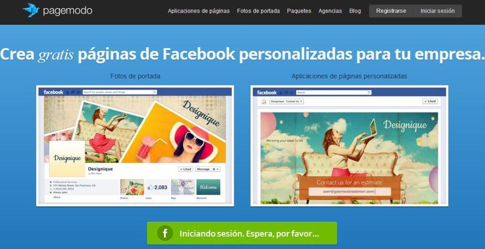 Herramienta para programar cambios en el diseño de portada de Facebook (1/2)