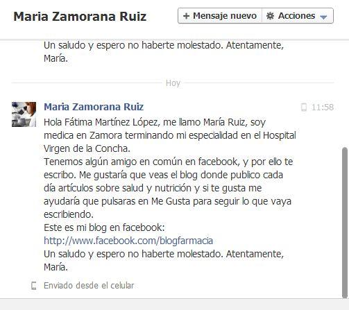 Maria Zamorano Médica