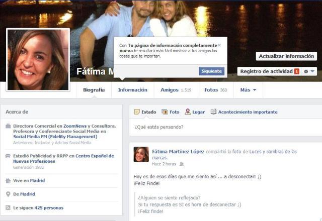 Cambios Facebook 20131