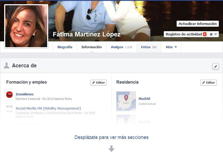 Cambios Facebook 20132