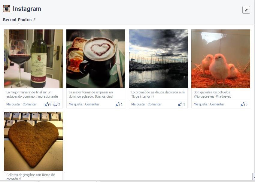 Cambios Facebook 20139