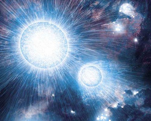 estrellas blancas