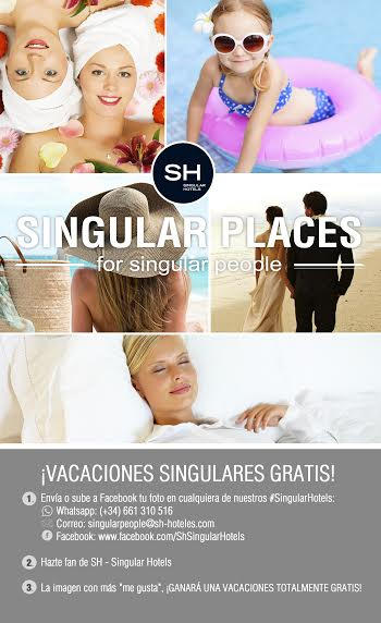 singular places hoteles