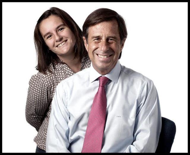 Teresa y el alcalde de Alcobendas