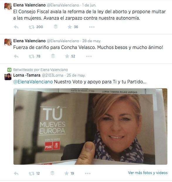 Elena Valenciano  Twitter