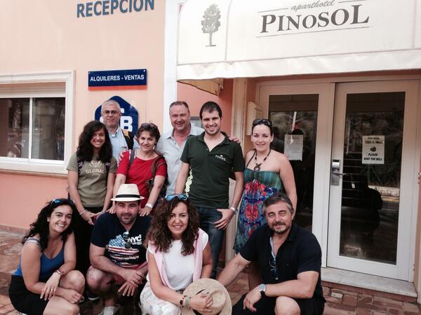 Hotel Pinosol con Juan