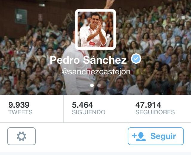 Pedro Sanchez definitiva