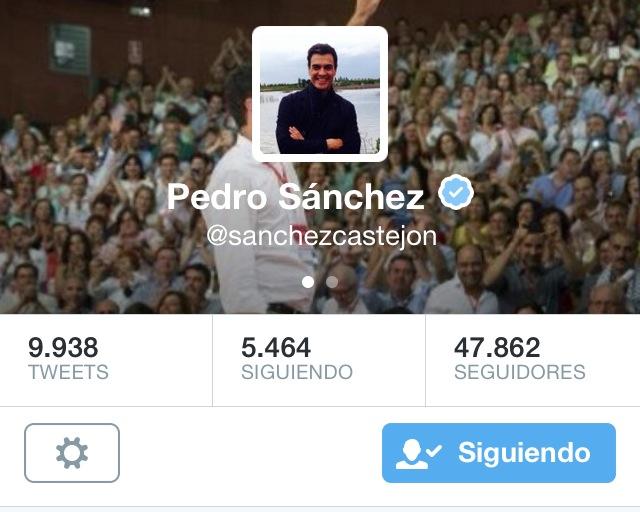 Pedro Sanchez foto personal fondo cambiado