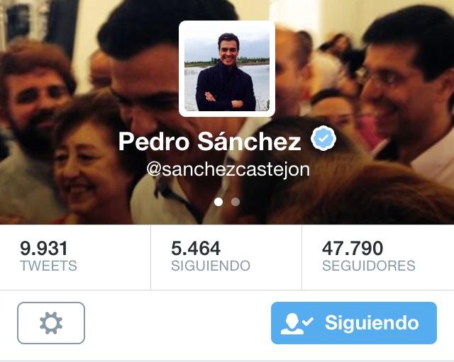 Pedro sanchez original
