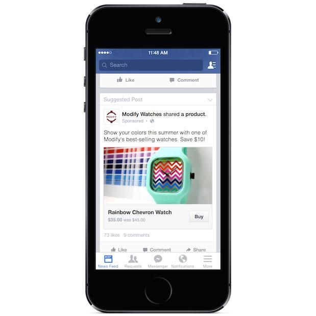 Facebook compras