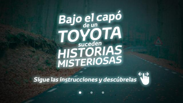 Toyota Realidad Aumentada