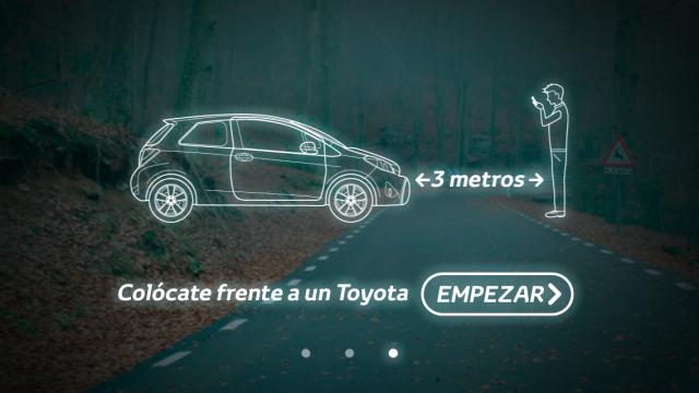 Toyota App móvil historias misteriosas
