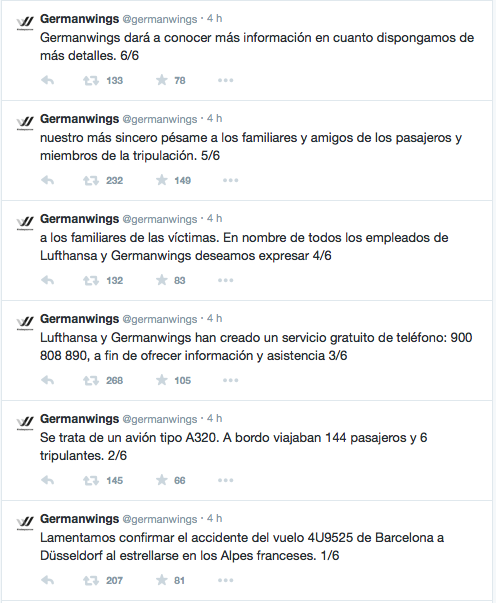 Accidente avión Germanywings