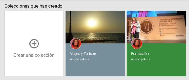 Colecciones Google Plus
