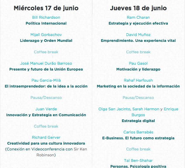 Evento Madrid Gorbachov Duaro Barroso