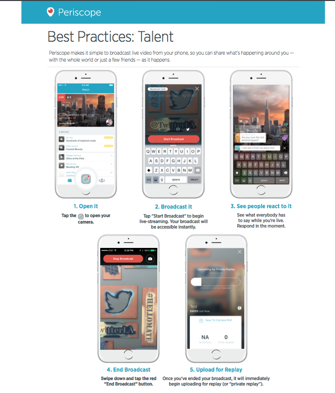 Streaming Twitter Periscope