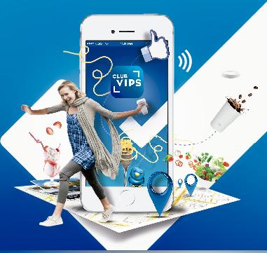 Aplicación Club Vips