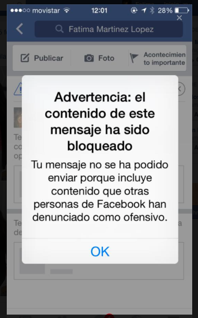 Eliminar SMS Facebook