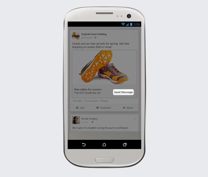 Conectar con marcas Facebook