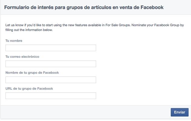 Comprar y vender en grupos de Facebook