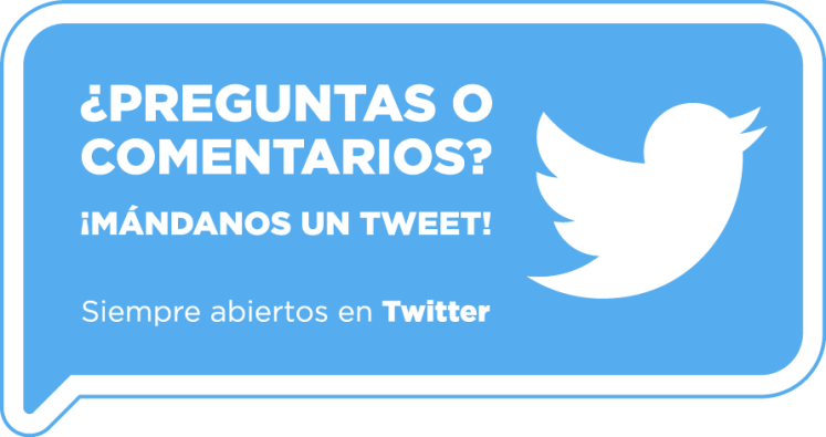 Twitter pegatina preguntas