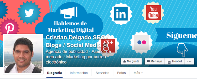 Verificar pagina facebook