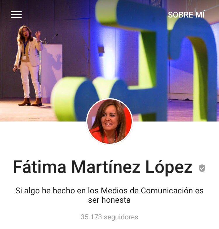 Perfil Google Plus Fatima Martinez