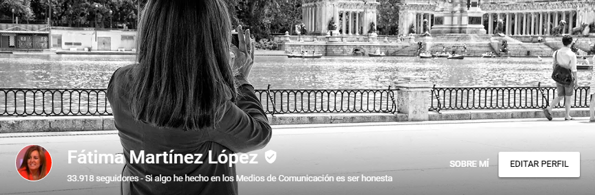 perfil google plus verificado