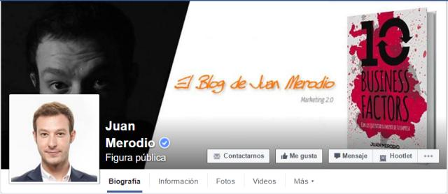 perfiles verificados facebook