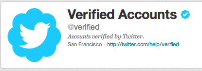 Verificar perfil Twitter