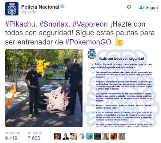 policia pokemon