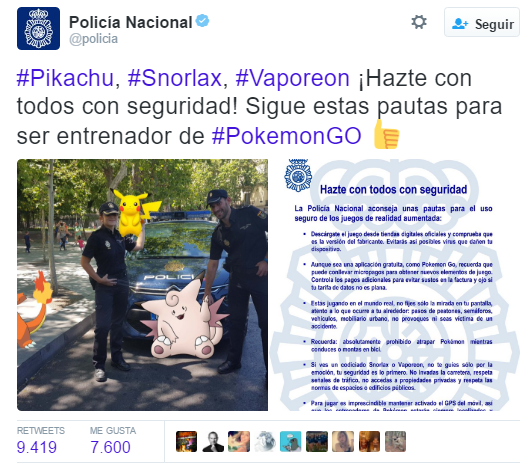 policia pokemon