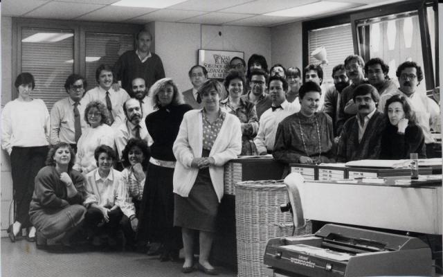 Departamento publicidad El País 1986