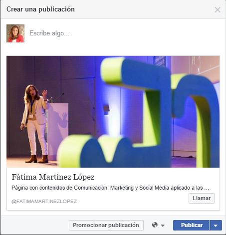 Llamadas paginas facebook