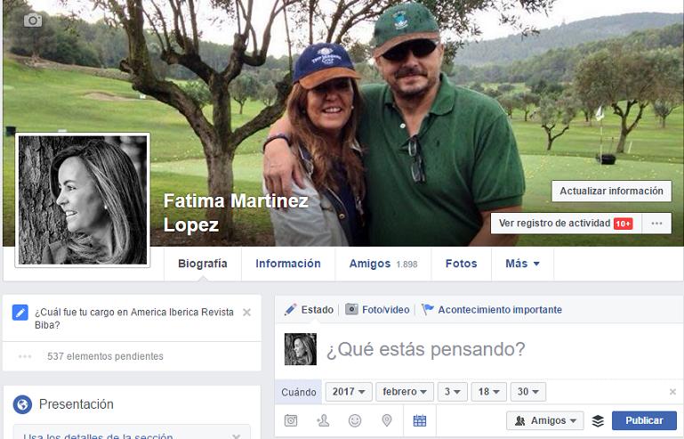 Programar en perfiles facebook