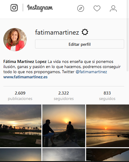 Instagram fotos web