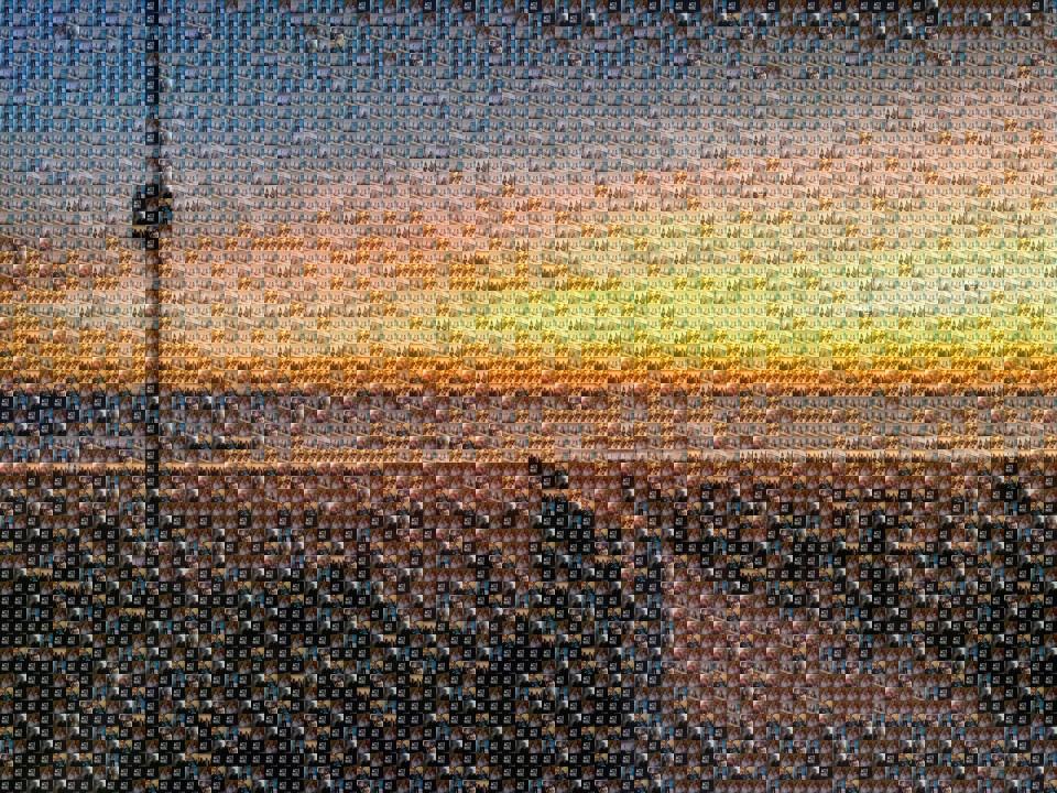 como hacer un mosaico de fotos