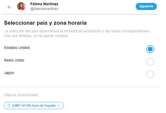 Promocionar cuenta Twitter