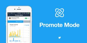 Que es modo promote twitter