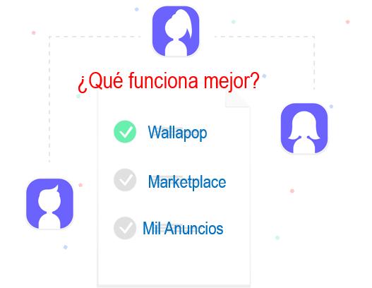 Marketplace, Wallapop o Mil anuncios qué funciona mejor