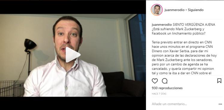 Instagram marca personal