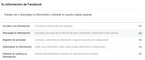 Copia de mi cuenta Facebook