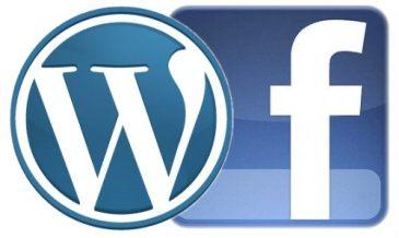 Enlazar Wordpress a Facebook