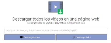 Descargas videos redes sociales