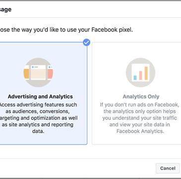 Como instalar pixel facebook